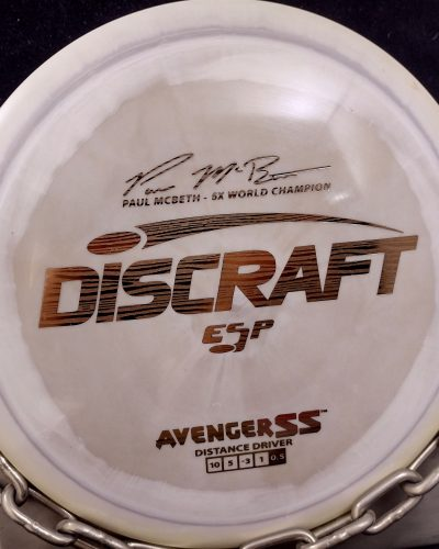 Discraft Paul McBeth 5X World Champion Signature Series ESP AVENGER SS Disc Golf Driver