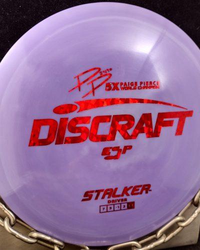 Discraft Paige Pierce 5X World Champion ESP STALKER Golf Disc Fairway Driver