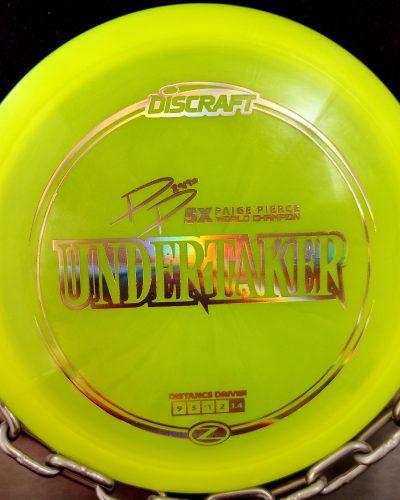 Discraft Paige Pierce 5X World Champion Z UNDERTAKER Golf Disc Fairway Driver
