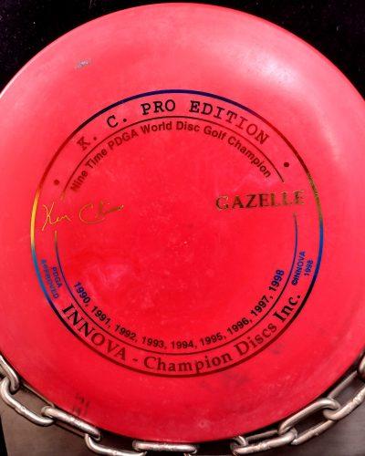 Innova Ken Climo 9 Time World Champion KC Pro Edition GAZELLE Fairway Driver Golf Disc