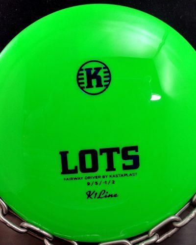 Kastaplast K1 LOTS Fairway Driver Golf Disc