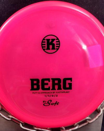 Kastaplast K1 Soft BERG Putter Golf Disc