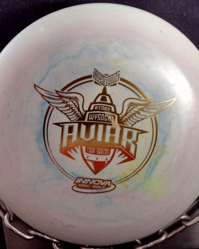 Innova Ricky Wysocki Sockibomb Tour Series Aviar Putter Golf Disc