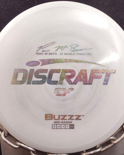 Discraft Paul McBeth 5X World Champion Signature Series ESP BUZZZ Mid Range Golf Disc