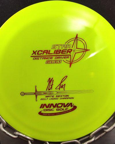 Innova Nate Sexton Star XCALIBER Golf Disc Driver