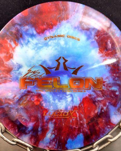 Dynamic Discs Eric McCabe Fly Dye Lucid CONVICT Golf Disc Fairway Driver 1
