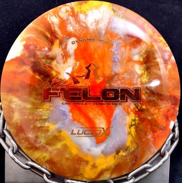 Dynamic Discs Eric McCabe Fly Dye Lucid CONVICT Golf Disc