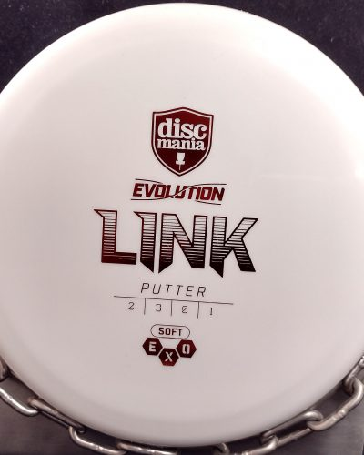 Discmania Evolution Soft Exo LINK Putt and Approach Golf Disc