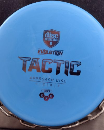 Discmania Evolution Soft Exo TACTIC Approach Putter Golf Disc