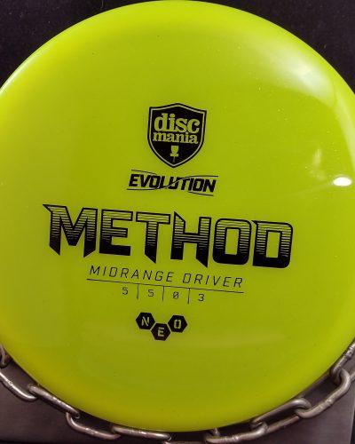 Discmania Evolution Neo METHOD Mid Range Driver Golf Disc