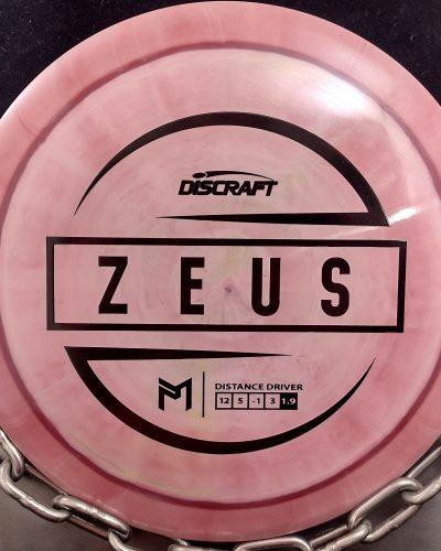 Discraft Paul McBeth ESP ZEUS Disc Golf Driver