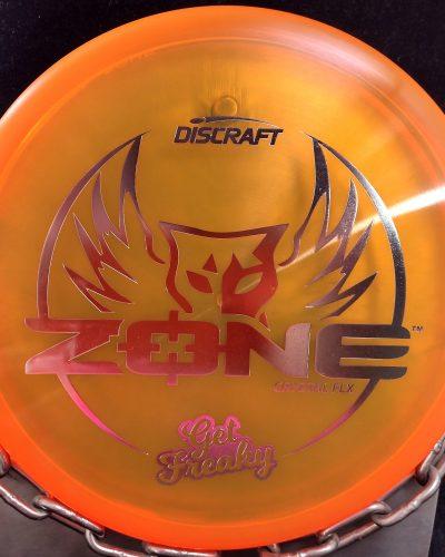 Discraft Get Freaky Cryztal FLX ZONE Golf Disc Putter