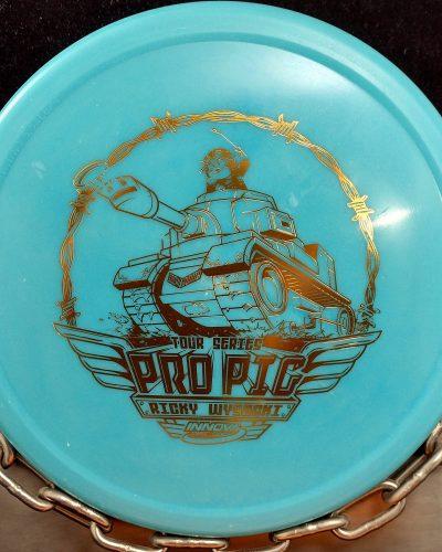 Innova Ricky Wysocki Tour Series Tank Pro Pig Disc Golf Putter