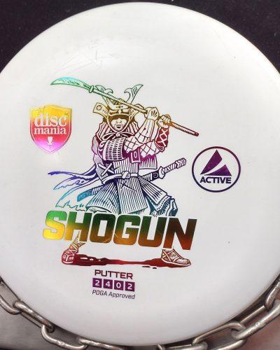 Discmania Active SHOGUN Putt and Approach Golf Disc