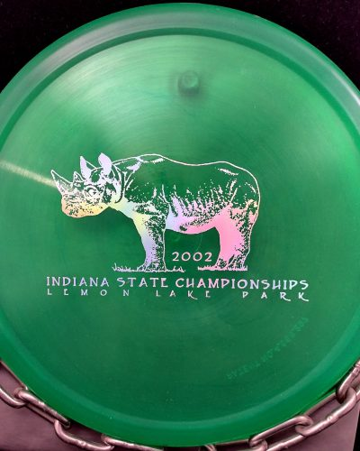 Innova 2002 Indiana States Champion RHYNO Putt and Approach Golf Disc