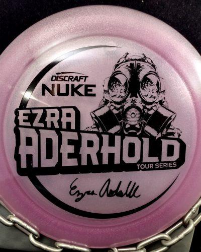 Discraft Ezra Aderhold Tour Series Z NUKE Disc Golf Driver