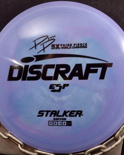 Discraft Paige Pierce 5X World Champion ESP STALKER Disc Golf Fairway Driver