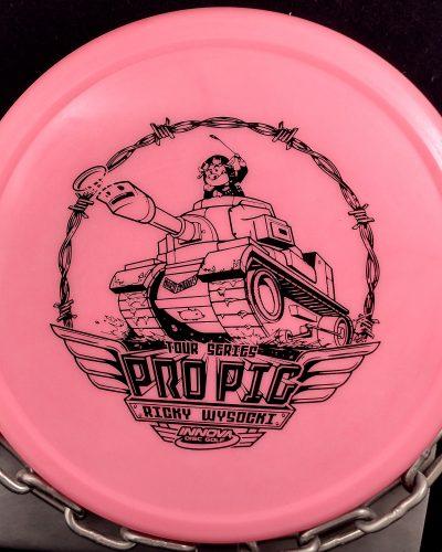 Innova Ricky Wysocki 2021 Tour Series Pro Pig Disc Golf Putter