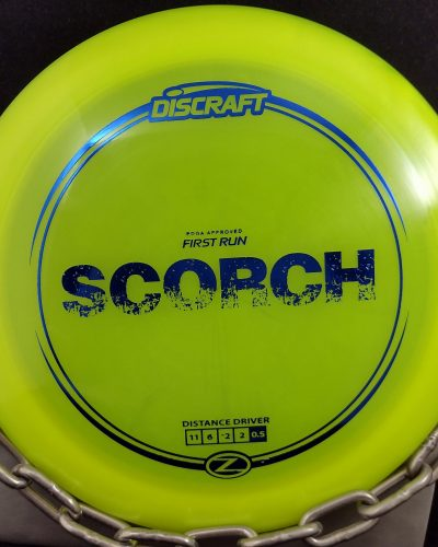 Discraft 1st Run Z SCORCH Disc Golf Driver