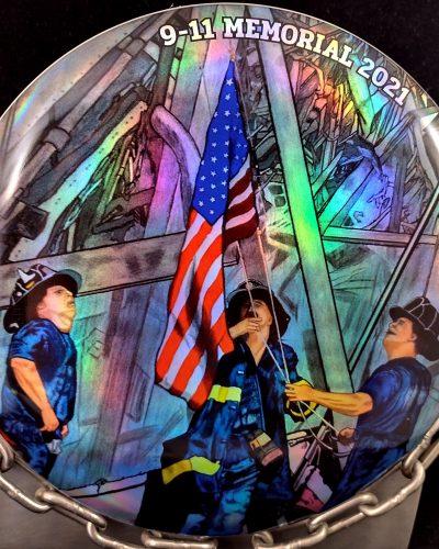 Discraft 9-11-2021 Memorial Full Foil ESP BUZZZ Mid Range Golf Disc