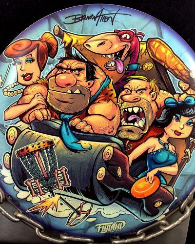 Discraft Flintstones Parody Supercolor ESP BUZZZ Mid Range Golf Disc