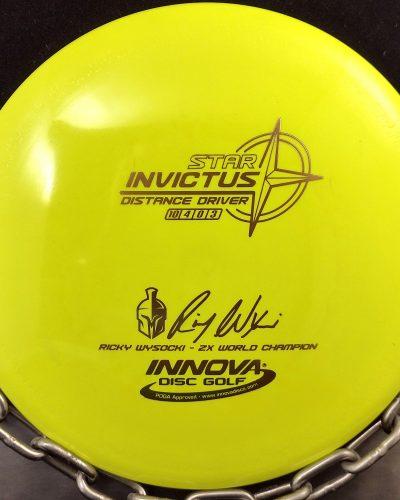 Innova Ricky Wysocki Star INVICTUS Disc Golf Driver