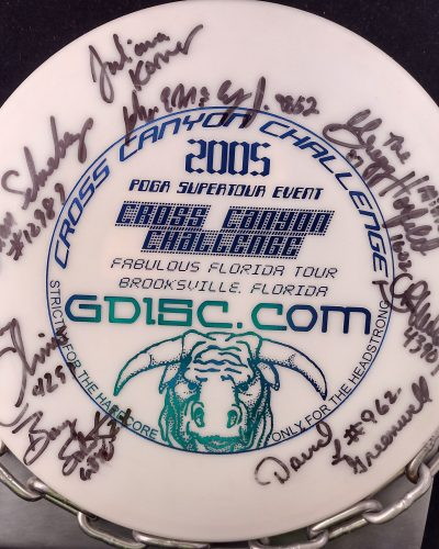 Innova Autographed DX COBRA Mid Range Golf Disc
