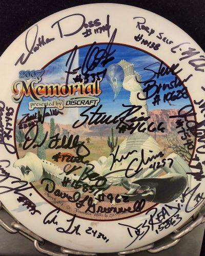 Discraft 2007 Memorial ESP CHALLENGER Disc Golf Putter