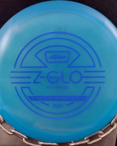 2021 Discraft Ledgestone Z Glo FLX BUZZZ Mid Range Golf Disc