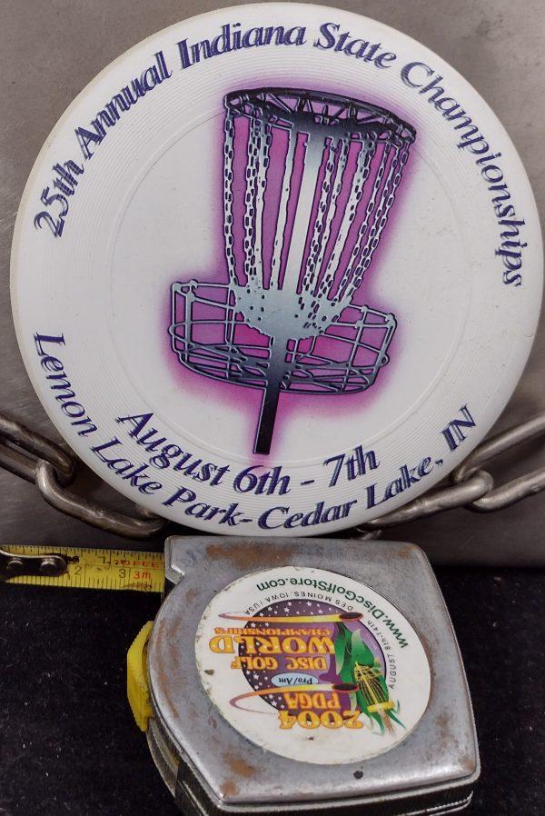 Discraft 25th Indiana State Championships MINI Ultra Star Disc Golf Marker