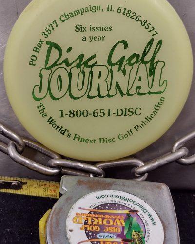 Little Flyer Disc Golf Journal GLOW MINI Disc Golf Marker
