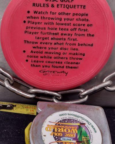 Little Flyer Disc Golf Rules and Etiquette MINI Disc Golf Marker