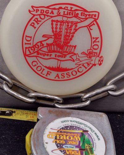 Little Flyer 1994 PDGA GLOW MINI Disc Golf Marker