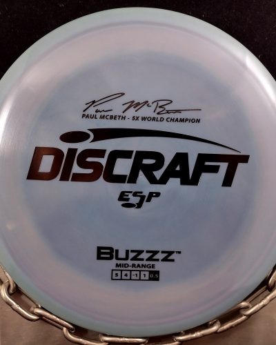 Discraft Paul McBeth 5 X ESP BUZZZ Mid Range Golf Disc
