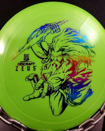 Discraft Big Z ZEUS Disc Golf Driver