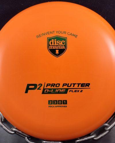 Discmania Flex 2 D-Line P2 Putt and Approach Golf Disc