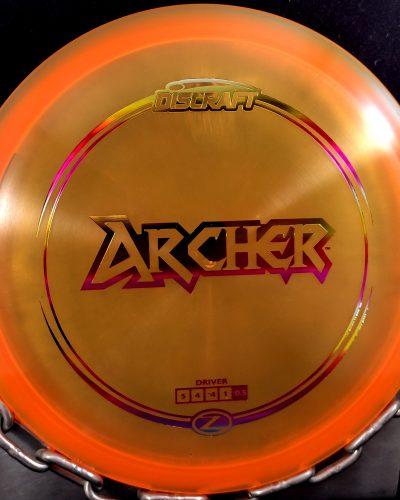 Discraft Z ARCHER Mid Range Golf Disc
