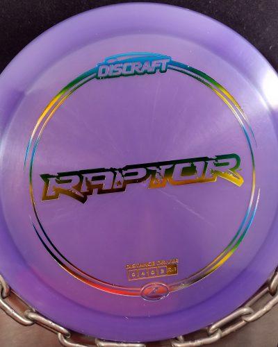 Discraft Z RAPTOR Disc Golf Driver