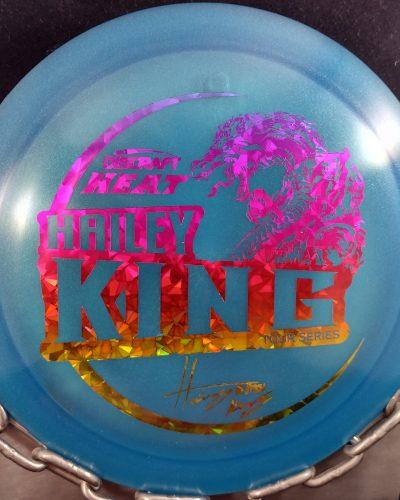 Discraft Hailey King Tour Series Z HEAT Disc Golf Driver