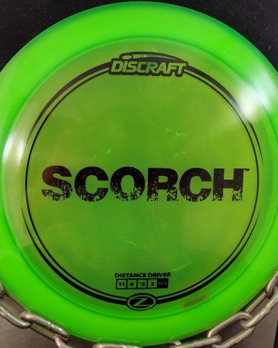 Discraft Z SCORCH Disc Golf Driver