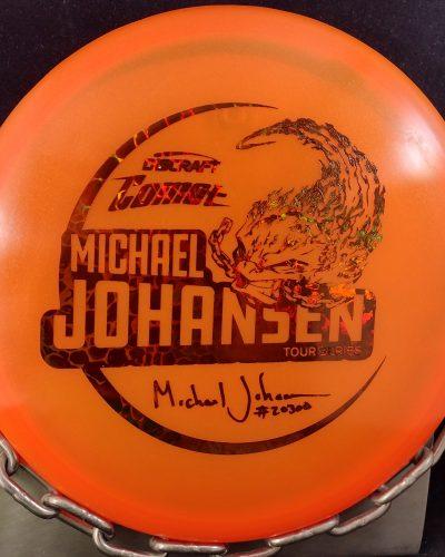 Discraft Michael Johansen Tour Series Z COMET Mid Range Golf Disc