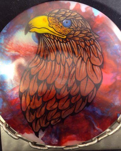 Dynamic Discs Lucid Fly Dye VERDICT Mid Range Golf Disc