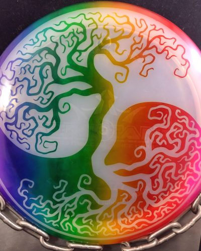Dynamic Discs Lucid Yin Yang Tree Fly Dye SERGEANT Disc Golf Driver