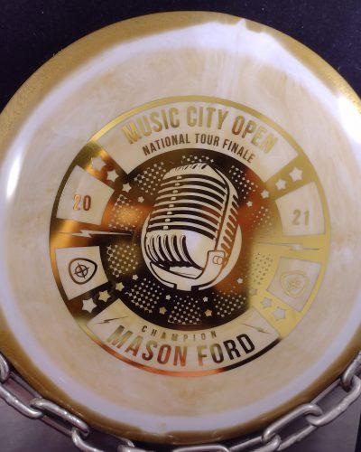 Innova Mason Ford Music City Open National Tour Finale Star SIDEWINDER Disc Golf Driver